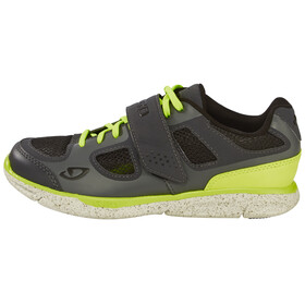 Giro Whynd Shoes Women dark shadow/highlight yellow